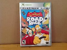 The Simpsons Road Rage (Xbox) - COMPLETE - Action Racing Adventure FUN