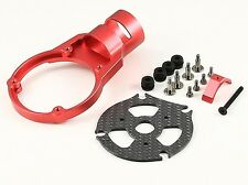 25mm CNC Tube AntiVibe Motor Mount Red fits S1000, S1100 and all of 25mm tube.