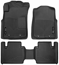 Husky Liners Front & 2nd Row Floor Liners for 12-15 Toyota Tacoma Access Cab