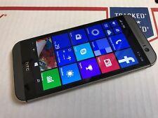 HTC One M8 32GB 6995L Gunmetal Used Windows Verizon Smartphone UNLOCKED GSM