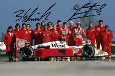 Piercarlo Ghinzani + Bernd Schneider 1988 F1 Zakspeed (DRUCK * PRINT)