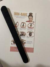 PONY-O BUN BARZ in DARK SABLE BROWN Create a Fashionable, or Classic Bun
