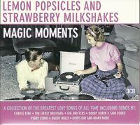 LEMON POPSICLES AND STRAWBERRY MILKSHAKES MAGIC MOMENTS - 3 CD BOX SET