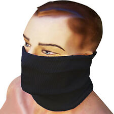 Motorcycle Wind Resistant  Neck Warmer Tube Cold Weather Face Mask Black
