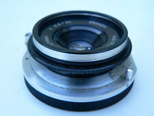 "RARE Alpa 38mm f:3.5 old delft Alfinar lens with caps NICE ""LQQK"""