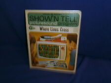 Vintage Ge Show'N Tell Where Lines Cross Picturesound Program 1965