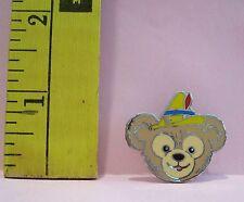 Walt Disney DUFFY'S HATS BEAR WEARING PINOCCHIO HAT HIDDEN MICKEY TRADING PIN