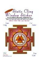 Durga Yantra Static Cling Window Sticker