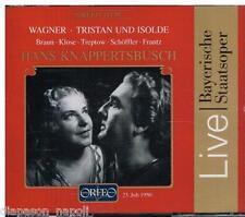 Wagner: Tristan Und Isolde / Knappertsbusch, braun, Klose, Frantz Schoffler - CD
