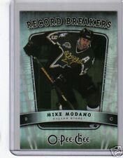 07/08 O-PEE-CHEE * RECORD BREAKERS * MIKE MODANO