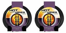 "(2) 20' Pro Instrument / Guitar Cable Cords 1/4"" NO RES"
