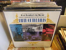 Our Century In Music Birth of the Blues 3XLP Sealed Longines Symphonette Society