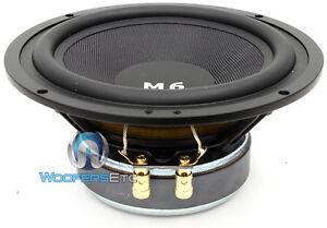 "M6i SINGLE  CDT AUDIO 6.5"" MID-WOOFER SUBWOOFER CAR SPEAKER HD-M6i MIDBASS NEW"