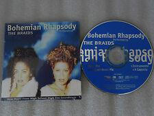 CD-THE BRAIDS-Bohemian Rhapsody-Music From High School- (CD SINGLE)-1996-