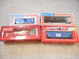 S SCALE AMERICAN FLYER/ LIOMEL FOUR CAR GROUP