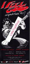Locarno Funk Fest 1997 Flyer - Zucchero - Candy Dulfer, Paolo Conte - RAR -Z 0-1