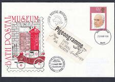 """Museo Postale da bagno FDC - """"pigeongramme"""" 25/3/1981 + inserti"""