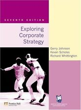 Exploring Corporate Strategy: Text Only,Gerry Johnson, Kevan Scholes, Richard W