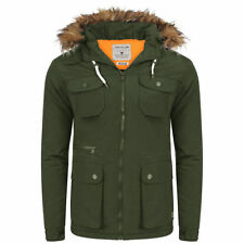 Polyester Hooded Coats & Jackets for Men Lee