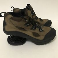 Z-Coil Comfort Women's Brown Hiking Shoes Size 8 Pain Relief Shoes