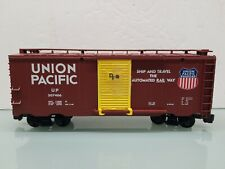 Lionel G Scale Union Pacific Freight Box Car Yellow Door