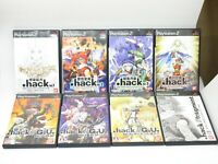 .hack G.U. GU Fragment Bandai Role Playing Game RPG set PS2 PlayStation2 Japan