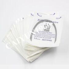 Dental Ortho 30PKS Super Elastic Niti Rectangular Arch Wires ovid form CE&FDA