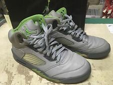 USED NIKE AIR JORDAN V 5 GREEN BEAN 2006 EDITION 136027 031 SZ 10 AIR MAX FREE