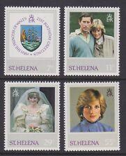 ST HELENA 1982 Diana 21st birthday MINT set sg397-400 MNH
