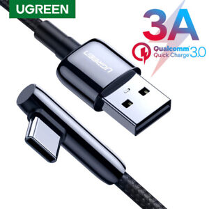 Ugreen USB Type C Cable 3A Fast Charging USB C Cable for Samsung S20 Xiaomi