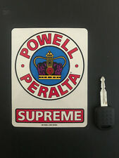 POWELL PERALTA SUPREME SKATEBOARD STICKER DECAL