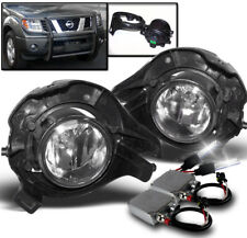 FRONT FOG LIGHTS LAMP W/50W 6000K HID FOR 2005+ FRONTIER/PATHFINDER/2007+ SENTRA