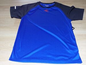 Boy's Size Small 6-7 AND 1 Blue Black Basketball Innovator S/S Tee Shirt Top New