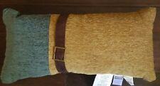 New Croscill Hudson Walnut 11 X 22 Boudoir Throw Pillow