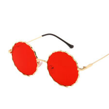 1pcs New Vintage Stylish Metal Frame Women Men Round Plum blossom Sunglasses CN