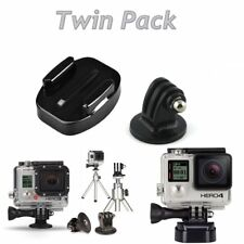 Gopro (Twin Pack) Quick Release Clip + Tripod Adapter Mount for GoPro Hero SJCam