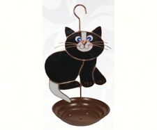 Gift Essentials Black Cat Bird Feeder