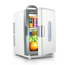 12V/220V 18L Mini Car Fridge Freezer Cooler Travel Refrigerator Cooler Box