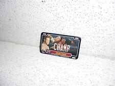 WWE John Cena Power Plate 2012 Topps License Plate