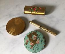 Kigu Mascot Stratton Compact Bundle Perfume Case Vanity Vintage Lot England
