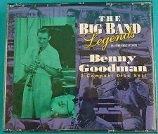 BENNY GOODMAN 3 CD Set, The Big Band Legends, 1993 RCA Special Products, 15096
