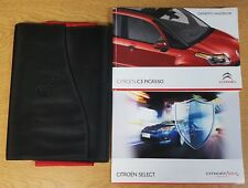 GENUINE CITROEN C3 PICASS OWNERS MANUAL HANDBOOK  2009-2013 WALLET # F-838