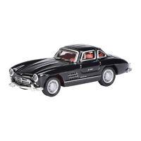 Schuco 452800400 Mercedes Benz 300 SL schwarz Maßstab 1:87 (H0) NEU! °
