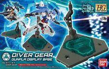 HG Build Custom 034 Gundam Diver Gear Display Base 1/144 model kit Bandai