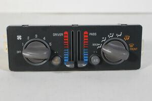 01 02 03 Pontiac Grand Prix Heater A/C Dual Zone Climate Control Part Switch AC