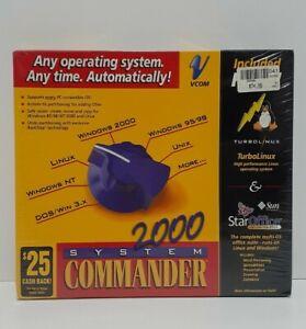 Vcom System Commander 2000 Version Legacy Software TurboLinux StarOffice Windows