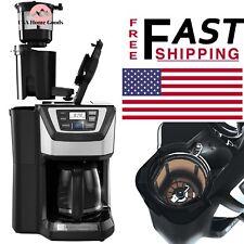 BLACK+DECKER Mill Brew Programmable Coffee Maker 12Cup w/ Grinder Duralife Glass