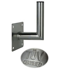 15 cm Wandhalter ALU Aluminium TÜV Wandabstand Wandhalterung SAT Antenne Halter