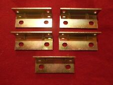 Heavy Duty Steel Right Angle Brackets--- Plated---(Lot of 50)
