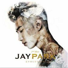 Jay Park - [Evolution] 2nd Album CD+Booklet+Tracking K-POP Hip-Hop Rap 2PM Idol